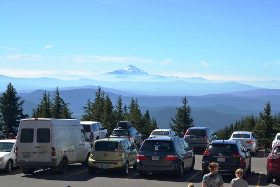 Mount Hood: Mt. Jefferson i baggrunden
