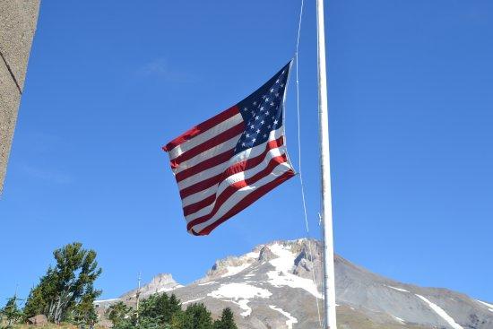 Mount Hood: Stars and Stripes