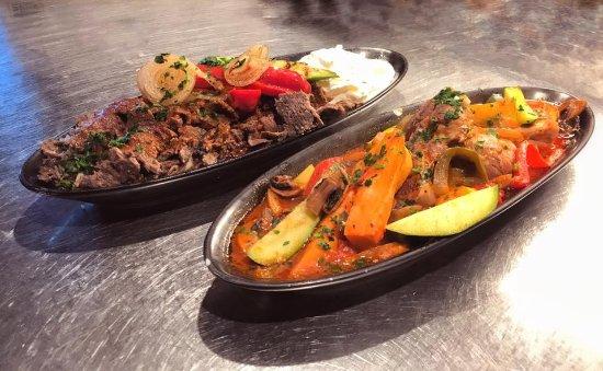 Agora Mediterranean Kitchen: Lamb Shank & Iskender Kebap