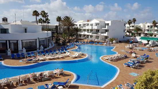 Be Live Experience Lanzarote Beach: Top floor balcony view