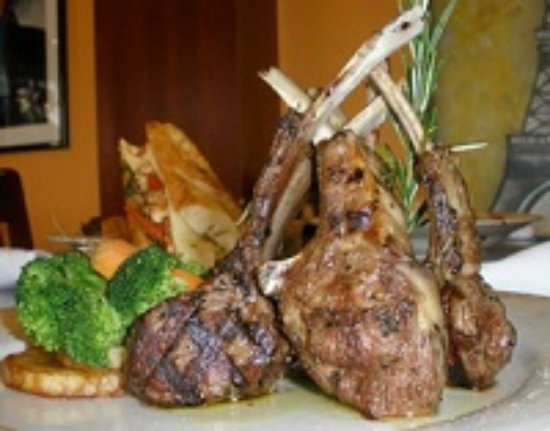 Agora Mediterranean Kitchen: Lamb Chops