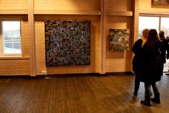 Gran Municipality, Νορβηγία: Utstilling i bl.a. store sal under julemarkedet 25. nov.