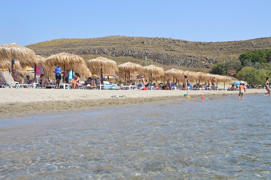 Havouli beach bar - Εικόνα του Havouli Beach Bar, Μούδρος ...