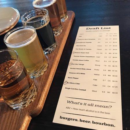 Гластонбери, Коннектикут: Plan B Burger Bar