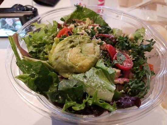 Protein Bar: Healthy club salad