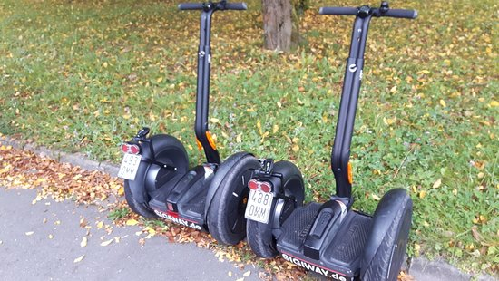 Bayreuth, Germany: Segways
