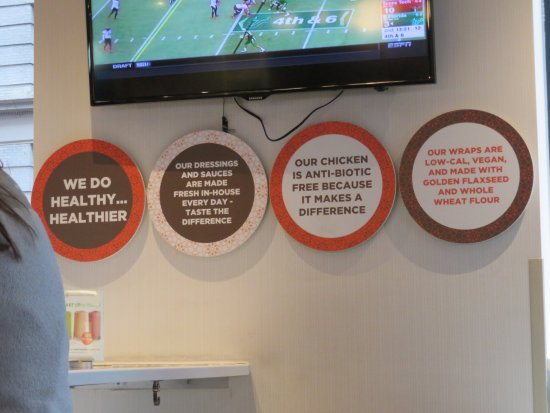 Protein Bar: Interior signs