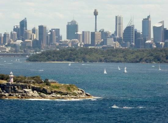 North Head Sanctuary: View from Fairfax Lookout