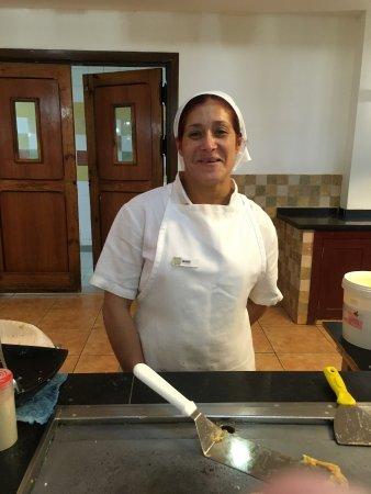 Hotel Playa Cayo Santa Maria: Aimy tellement gentille et fait de bonnes  omelettes.