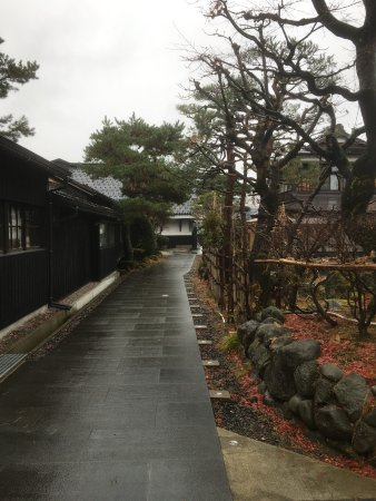 Inside Miyaizumi Meijou Brewery. Brewing area on the left.