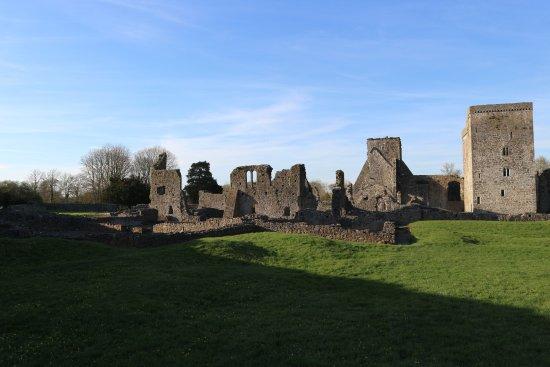 Kells Priory: the inside
