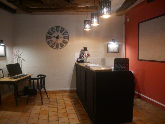 Hotel Le Blason: réception