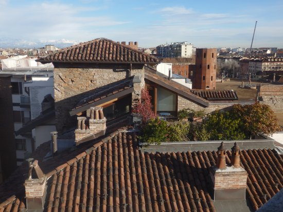 NH Torino Santo Stefano: Vista desde la planta superior Panoramic-view