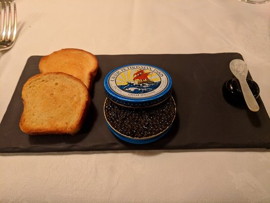 Inn at Little Washington: Tin of Sin First Course