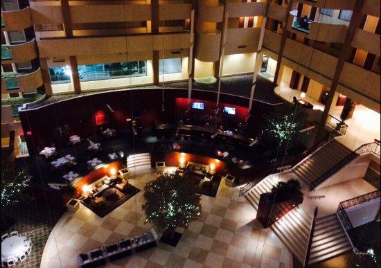 Upper Level of Hotel - Open Area.