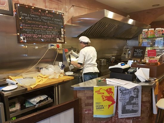Piadineria Gradisca da Carmen: Buenísimo lugar, comida y trato excelente!!!