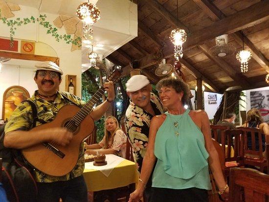 Casa Mediterranea: Great Tunes... From Santana to Zappa
