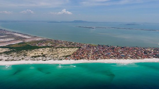 Cabo Frio, RJ: Vista aérea