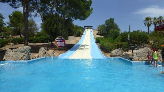 Aqualand El Arenal: Crazy race