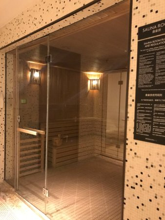 Sauna - Picture of Shanghai Marriott Hotel Pudong East