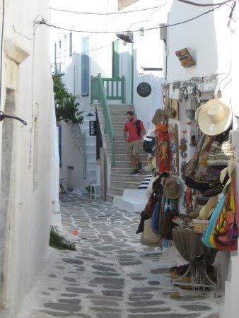 Aspasia Maria: One of Naoussa's pretty streets