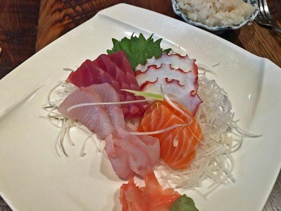 วัดส์เวิร์ท, โอไฮโอ: super fresh sashimi plate