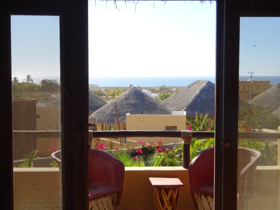 CalyCanto Casitas: View from Casita Tortuga master bedroom