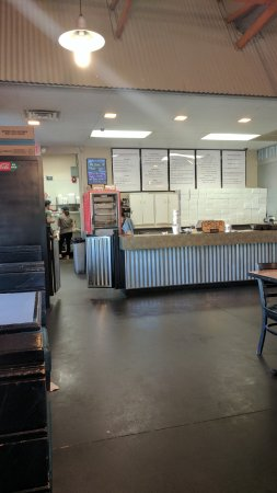 Zeeland, MI: Front counter / Menu board