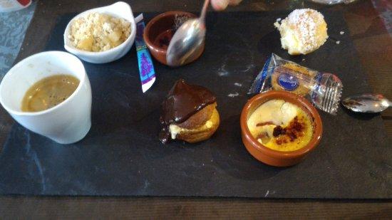 L'Ardoise Gourmande: Le café très très gourmand