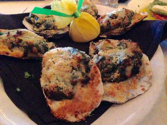 Williams Bay, WI: Oysters Rockefeller