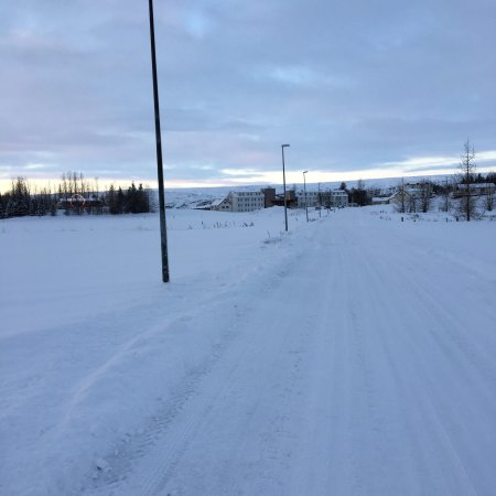 Gistihusid - Lake Hotel Egilsstadir: Beautiful winterdays in late December.