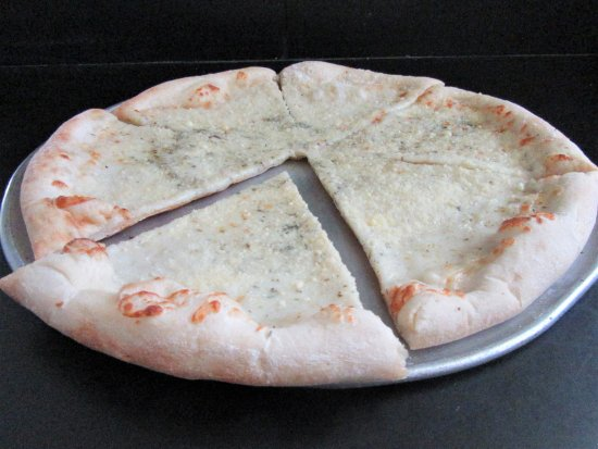 Berwick, PA: White Pizza with Garlic