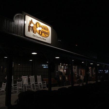 Adairsville, GA: The barrel at night