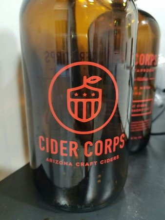 Mesa, AZ: Arizona's first exclusive cider maker and taproom! Veteran owned and operated. Co-owner Jason is
