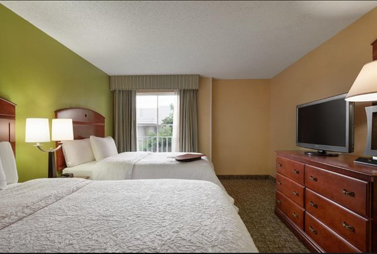Hampton Inn & Suites Ft. Lauderdale Airport/South Cruise Port: Neat, Clean, Fresh and ready to relax in our room