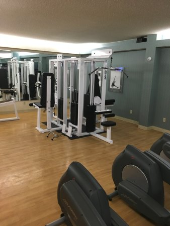 Gym picture of dallas fort worth marriott hotel & golf club at
