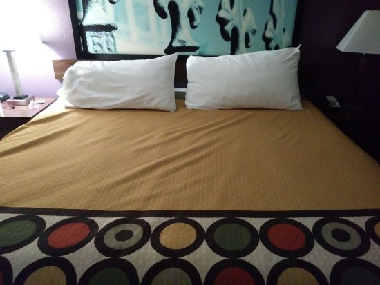 Natchitoches, Luizjana: The bed, king size and very comfy
