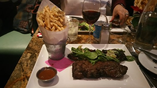 Blue Talon Bistro : Steak Frites - Highly recommended.
