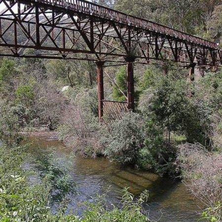 Walhalla, Australia: Bruntons Bridge