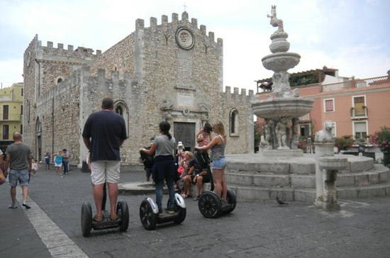 Taormina Sightseeing City Segway Tour...