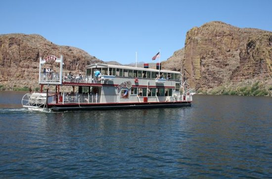 Apache Trail och Dolly Steamboat Tour