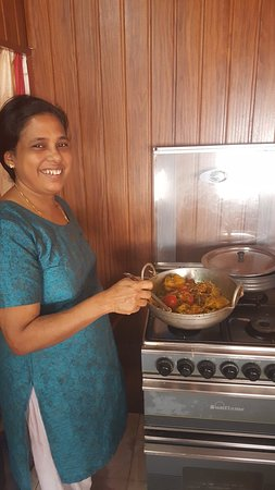 Maria's South Indian Cooking Class Photo