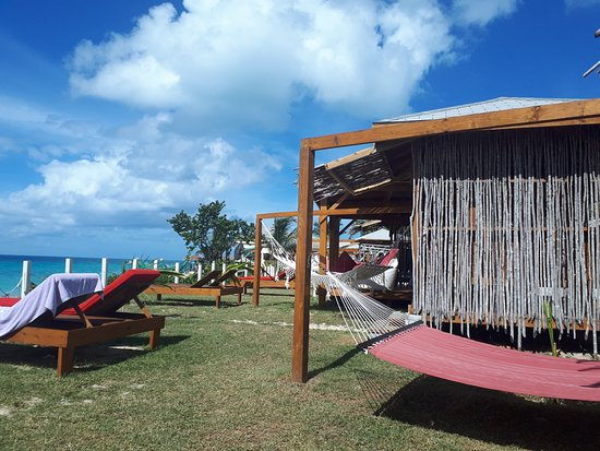 Crab Hill, Антигуа: Private Cabanas and Hammocks