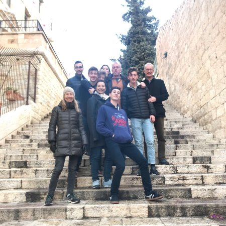 Ramallah Tour with students from the University of California