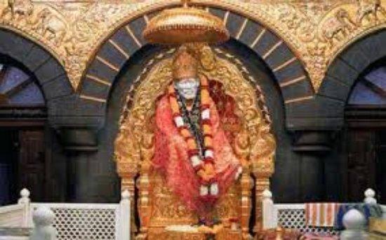 Shri Saibaba Sansthan Temple: temple deity and hall