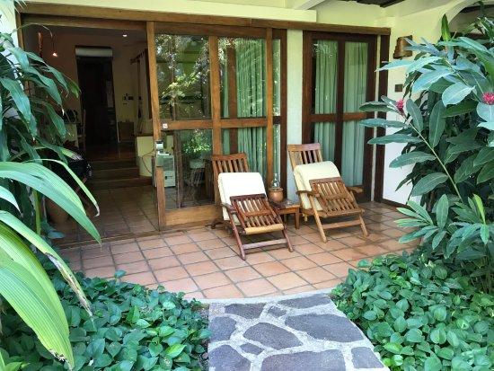 Hotel Capitan Suizo Beach Front Hotel Boutique: Entrée de la chambre