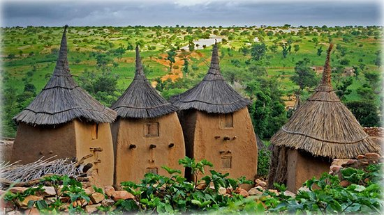 Dogon village of Bandiagara, Mali