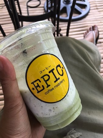 The best matcha in Coron, perfect for a hot day