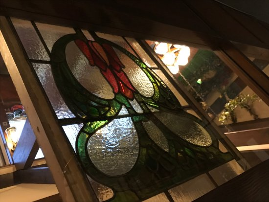 Pension Oyamano Endo: 館内のステンドグラス