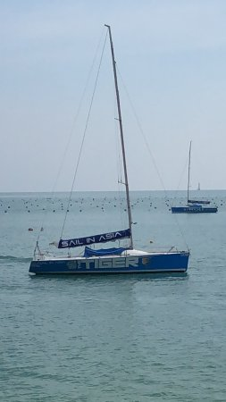 Sail In Asia : 25 ft Pontu (Tiger) also has several 35 ft Farrs and and Trimaran)